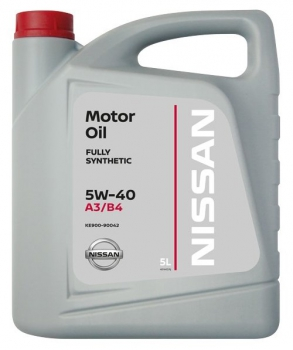 Масло моторное Nissan 5W-40 FS A3/B4 5л